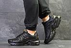Мужские кроссовки Nike Air Max Tn (черные) весна-осень, фото 3