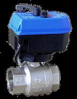 Кран шаровый с электроприводом IVR (Italy), DN50 (G2), цена, фото 1