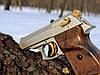 Стартовый пистолет EKOL LADY 9 мм (сатин с позолотой), фото 6