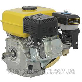 Двигун Бензиновий до мотоблоку Кентавр (Kentavr) ДВЗ-200Б1 (6.5 л. с.) під шпонку, вал 20мм (для ременів)