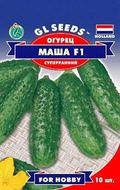 Огурец Маша F1 партенокарпик, пакет 8 семян - Семена огурцов, фото 2