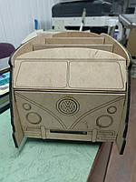 Органайзер (подставка для ручек, карандашей и кистей) Автобус VW