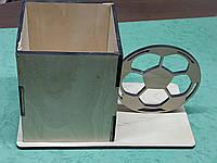 Органайзер (подставка для ручек, карандашей и кистей) Мяч