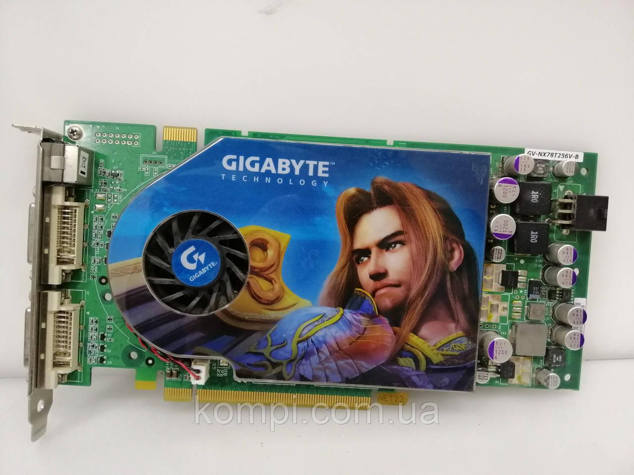 Видеокарта NVIDIA 7800GT 256MB PCI-E