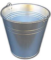 Ведро 12 литров оцинкованное одношовное (Метид, Днепр)