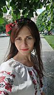 Мак и Калина Украшение в прическу для подружки невесты Свадьба в Украинском стиле