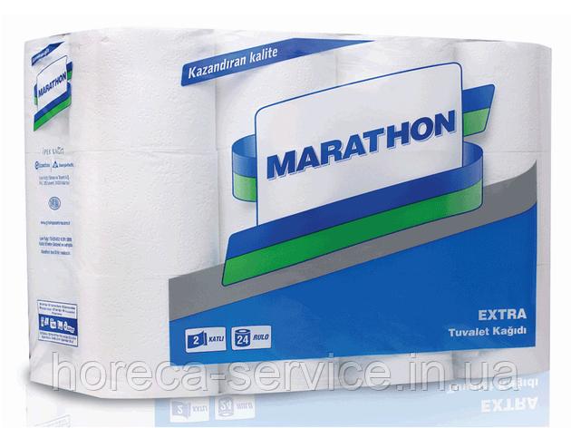 Туалетная бумага Marathon Еxtra 2-х слойная 24рул. 22 3м целлюлоза белый, фото 2