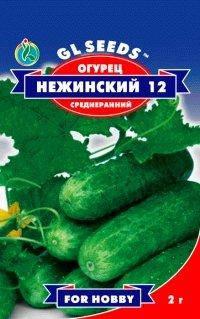Огурец Нежинский, пакет 1г - Семена огурцов, фото 2