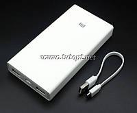 Power Bank Xiaomi 3.6V - 20000 mAh Output - DC 5.0V - 2.0A / DC 5.1V - 2.1A(реальная емкость меньше)