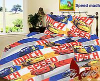 ТМ TAG Комплект постельного белья Speed mach