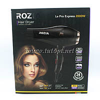 Фен для укладки волос c насадкой Rozia HC8305, мощностью 2000w