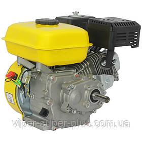 Двигун Бензиновий до мотоблоку Кентавр (Kentavr) ДВЗ-200Б1Х 6.5 л. с. під шпонку 20мм понижуючий редуктор 2:1