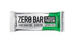 Протеиновый батончик BioTech Zero Bar 50g.(ШОКОЛАД - ОРЕХ)