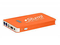 Пуско-зарядное устройство 8000 мА*ч + Power Bank + LED фонарь Sturm BC1208+НАША ДОСТАВКА