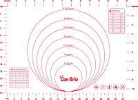 Коврик силиконовый для выпечки Con Brio CB-675 (30х40см) Красный