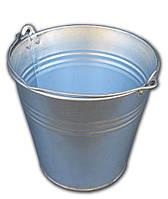 Ведро 7 литров оцинкованное одношовное (Метид, Днепр), фото 1