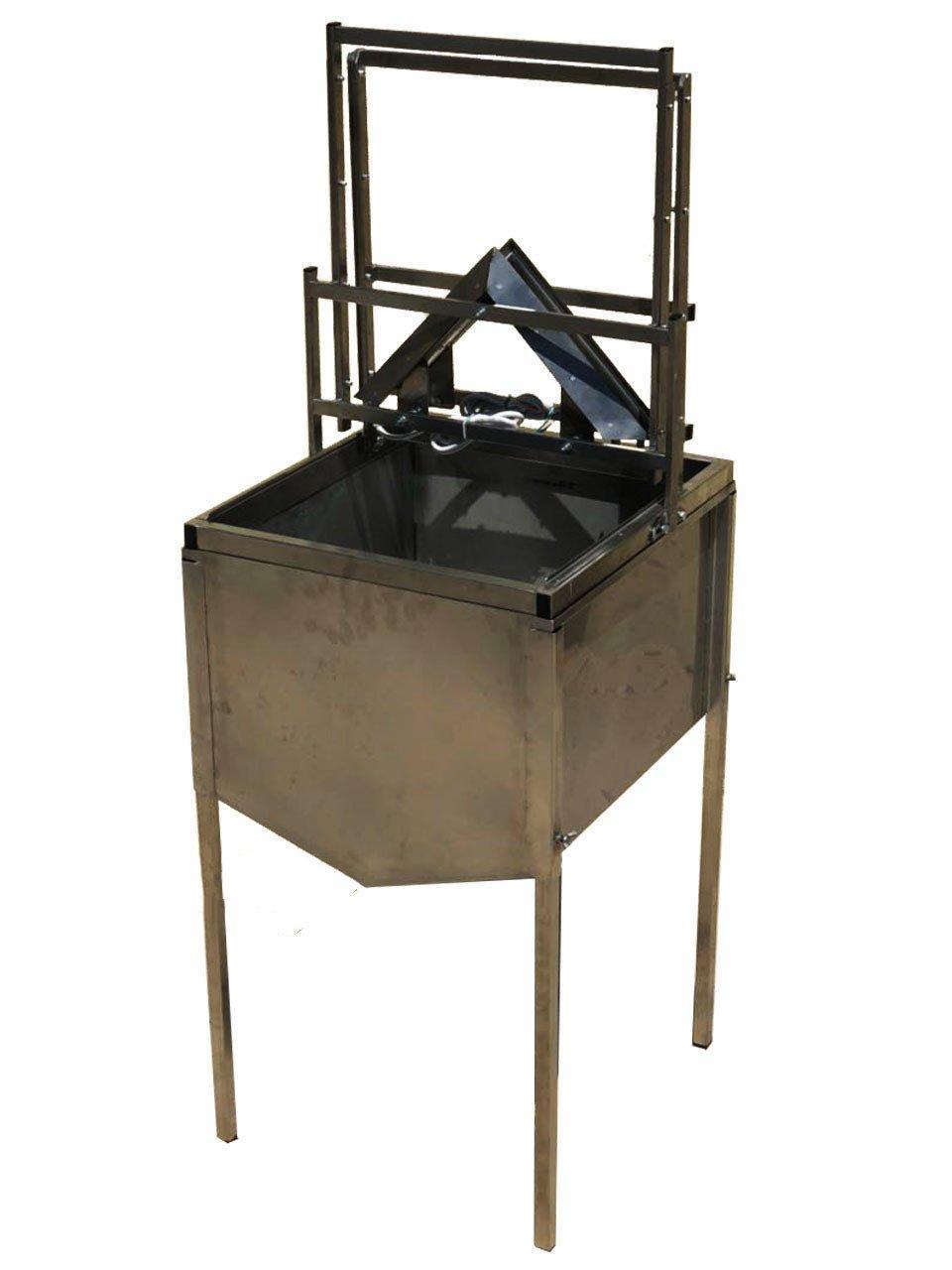 Верстат для розпечатування стільників із бункером (механічний)