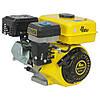 Двигатель Бензиновый к мотоблоку Кентавр (Kentavr) ДВЗ-200БЗР 6.5 л.с. Шкив на 3 ручья Фильтр в Масляной Ванне, фото 3
