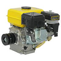 Двигатель Бензиновый к мотоблоку Кентавр (Kentavr) ДВЗ-200БЗР 6.5 л.с. Шкив на 3 ручья Фильтр в Масляной Ванне