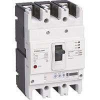 Автоматический выключатель с регулировкой YCM8E-250H, 250А, 3 пол., 380В, 35кА с электронным расцепителем, 100 - 250 A CNC