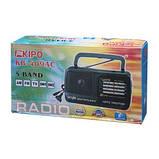 Радіоприймач всехвильовий KP-409AC FM(УКХ), TV, AM, SW1, SW2., фото 3