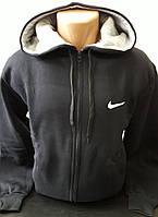Свитшот, толстовка, олимпийка мужская, на молнии с капюшоном