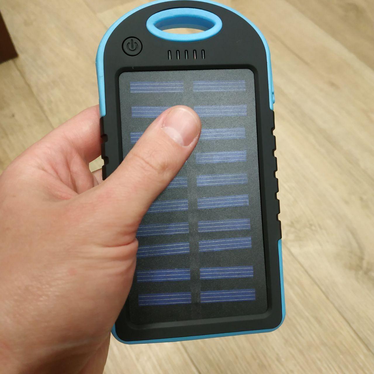 Power Bank Solar Samsung Charger 20 700 mAh Солнечное зарядное повер банк внешний аккумулятор Самсунг, фото 1