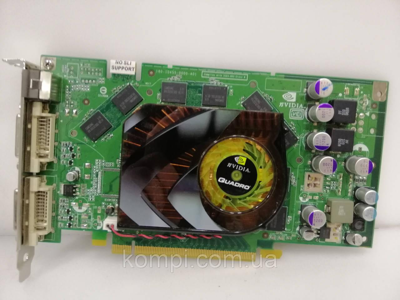 Видеокарта NVIDIA QUADRO FX 1500 256mb  PCI-E