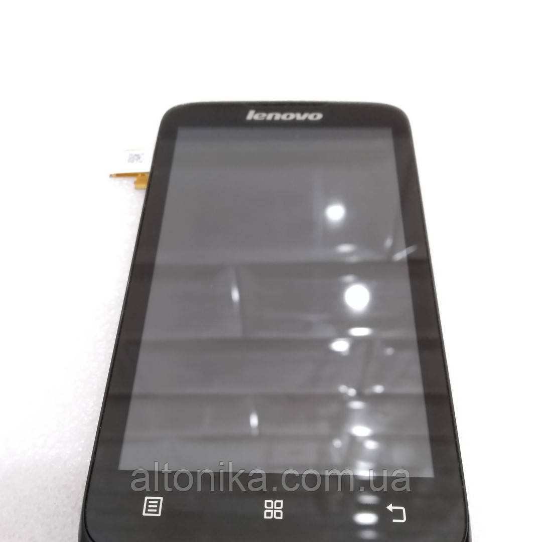 Дисплей экран модуль в сборе с рамкой на смартфон Lenovo A316i Оригинал