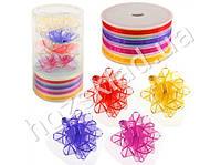 Набор декора для праздничной упаковки (4 банта, 4 ленты по 4,5м)