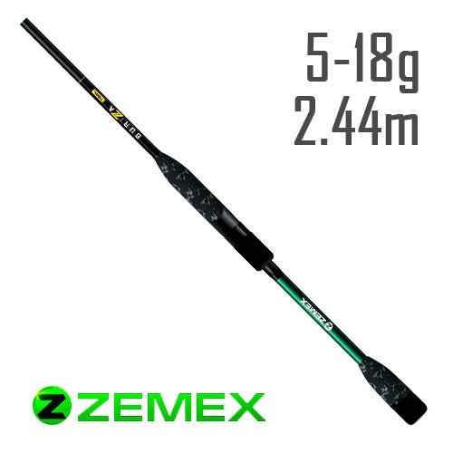 Спиннинг Zemex Buriza 2018 802ML 2.44m 5-18g Ex-Fast