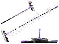 Швабра-полотер с телескопической ручкой и поворотным механизмом 87х29х8см 0f820039a5b