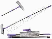 Швабра-полотер с телескопической ручкой и поворотным механизмом 90х27х7см 9e050a9b1a6