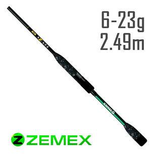 Спиннинг Zemex Buriza 822M 2.49m 6-23g Ex-Fast