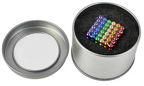 Неокуб (NeoCube, кольоровий), 216 шт. 5mm, магнітний конструктор-головоломка