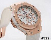 Мужские механические наручные часы   годинник Hublot Big Bang White Rose ( реплика) (522 690562278f535