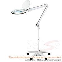 Лампа-лупа на штативе 6027 пятилучевой SMP для косметолога, для наращивания ресниц