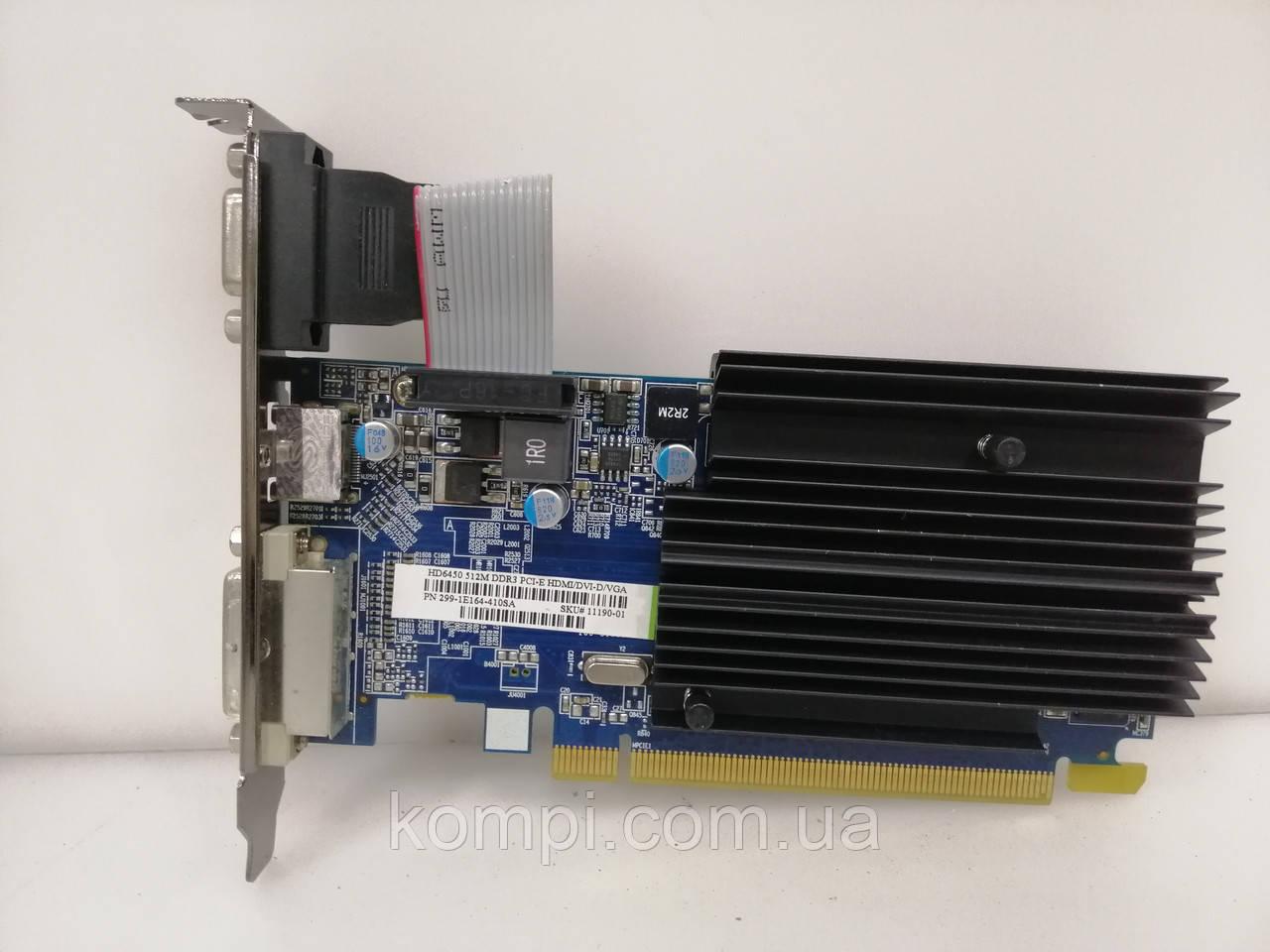 Видеокарта ATI RADEON HD 6450 512MB  PCI-E HDMI