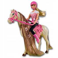 Лялька Штеффі Прогулянка верхи на конячці Simba 5730939
