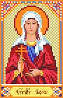 Матренин Посад 3058 Св. Лариса, схема под бисер на шелке