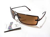 """Мужские стильные солнцезащитные очки """"Feillis"""", коричневые"""