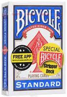 Карты для фокусов Bicycle Stripper Deck ( Blue)