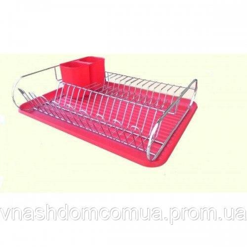 Сушка для посуды 1 ярус (Металлическая)