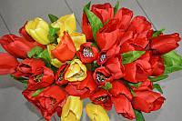 Тюльпан одиночный 45см (искусственные)