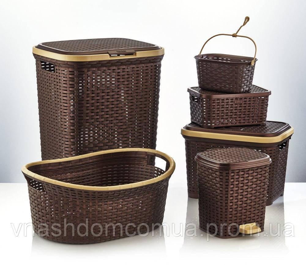 Набор корзин для дома (6 предметов) Irak Plastics RA-100