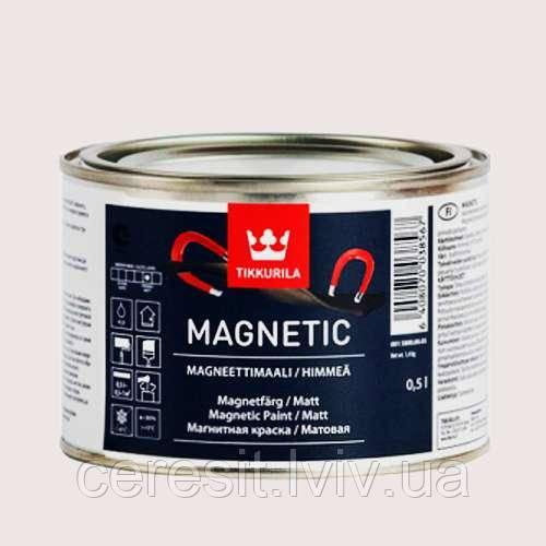 Магнітна фарба Magnetic 0.5л (Тіккуріла)
