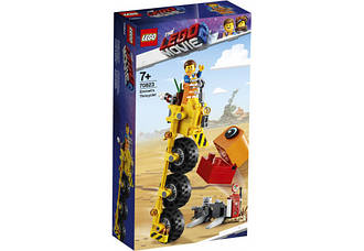 Lego Movie 2 Трехколёсный велосипед Эммета 70823