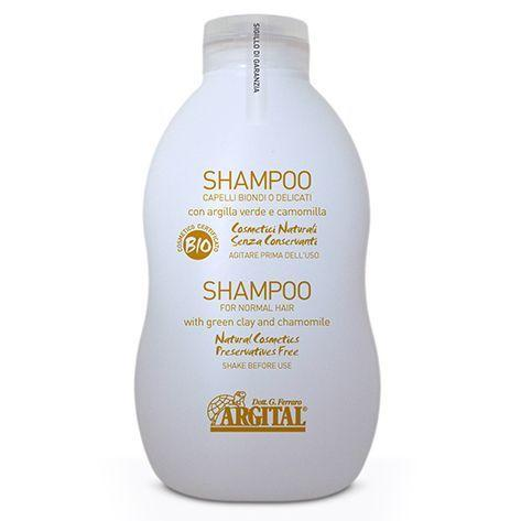 Органічний шампунь для світлого волосся Argital,500мл