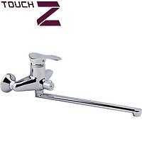 Смеситель для ванной длинный Eris 40мм 005 New Еc Touch-Z