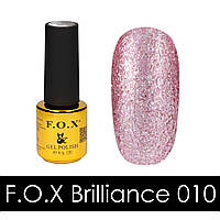 F.O.X gel-polish gold Brilliance 010, 6 ml